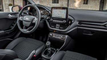 Ford Fiesta Titanium 2017 interior