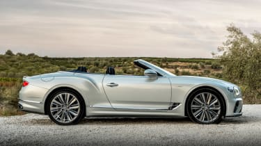 Bentley Continental GT Speed Convertible - side static