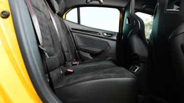 Renault Megane R.S. 300 Trophy - rear seats