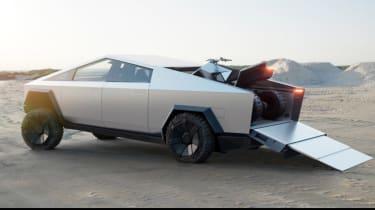 Tesla Cybertruck  ramp