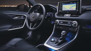 New Toyota RAV4 - dash