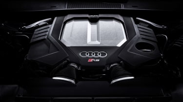 Audi RS 6 Avant - engine