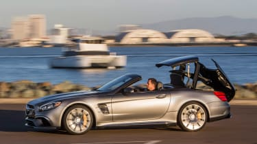 Mercedes-AMG SL 65 - roof opening