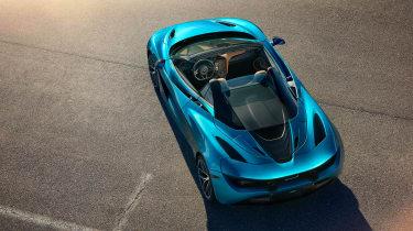 McLaren 720 Spider - above