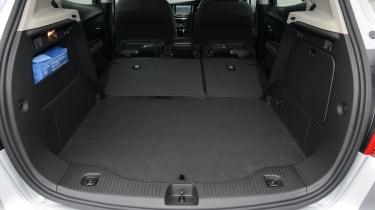 Vauxhall Mokka X - boot seats down