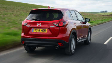Mazda CX-5 - rear tracking