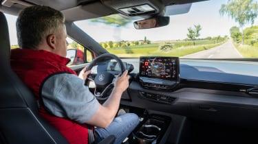 Volkswagen ID.4 GTX driving