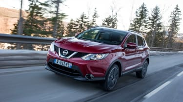 Nissan Qashqai 2014 1.6 dCi front track