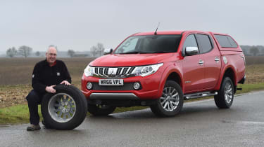 Mitsubishi L200 long-term test - second report header
