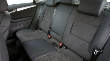Audi S3 Sportback rear seats
