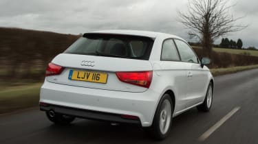 Audi A1 - rear tracking