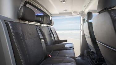 Vauxhall Vivaro Surf Concept - rear seats