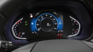 New Hyundai i30 digital instrument cluster