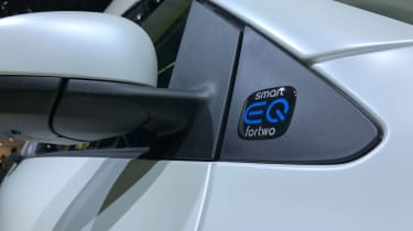 Smart EQ ForTwo - Frankfurt side detail