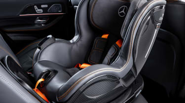 Mercedes ESF Concept - child seat