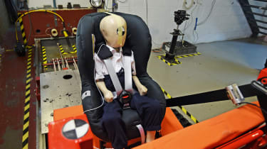 Child car seat - testing