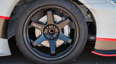 Nissan GT-R 1,390bhp drift car - wheel