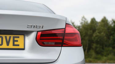 BMW 3 Series - rear lights