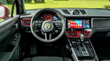 Porsche Macan GTS - dash