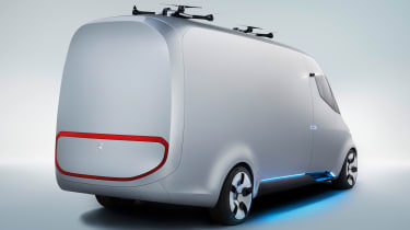Mercedes Vision Van - official rear