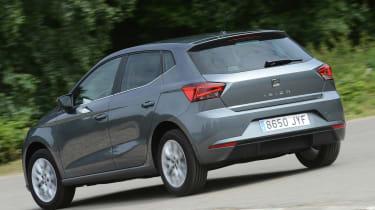 New SEAT Ibiza - rear cornering