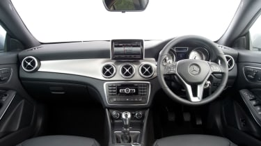 Mercedes CLA 180 interior