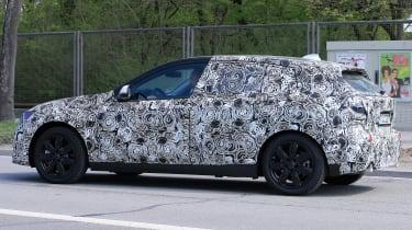 2019 BMW 1 Series spy shot side