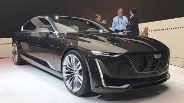 Cadillac Escala - show front