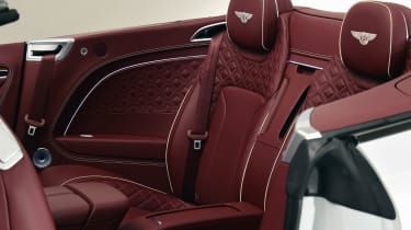 Bentley Continental GTC - studio rear seats