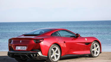 Ferrari Portofino - rear static roof closed