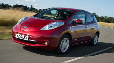 Nissan Leaf - front
