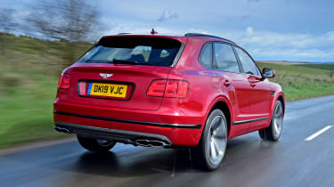 Bentayga rear tracking