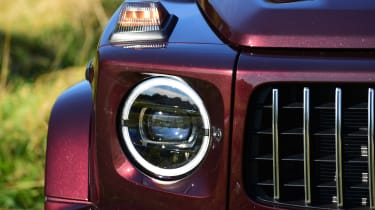 G 63 headlight