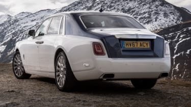 Rolls-Royce Phantom - rear static