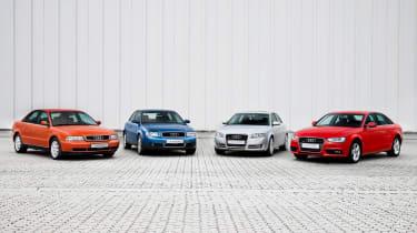 Audi A4 generations