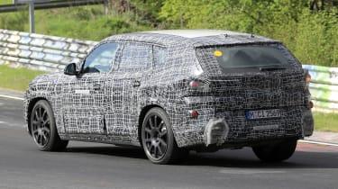 BMW X8 - spyshot 10