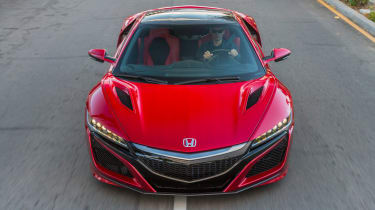 Honda NSX - front red