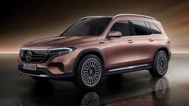 Mercedes EQB - front studio