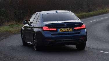 BMW 5 Series - rear cornering