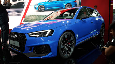 Audi RS4 Avant - Frankfurt front/side