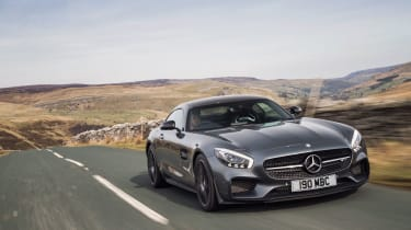 Mercedes-AMG GT - Footballers' cars