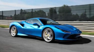 Ferrari F8 Tributo - front action