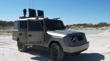 Ovik Crossway - armoured car