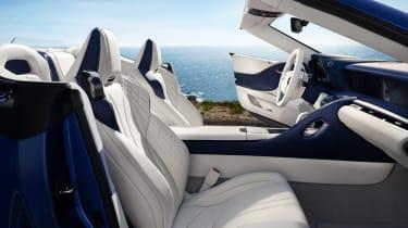 Lexus LC Convertible - front seats
