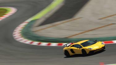 Lamborghini Aventador SV 2015 - on track