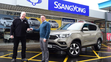 SsangYong Rexton long term - first report header
