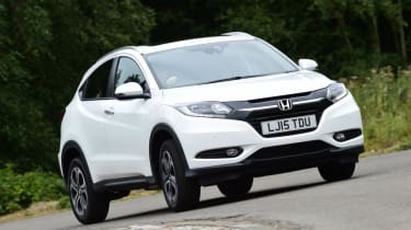Used Honda HR-V - front cornering