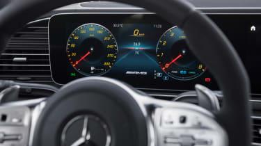 Mercedes-AMG GLS 63 - dials