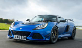 Lotus Exige Sport 380 - front tracking