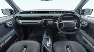 New Toyota Tj Cruiser concept - interior front